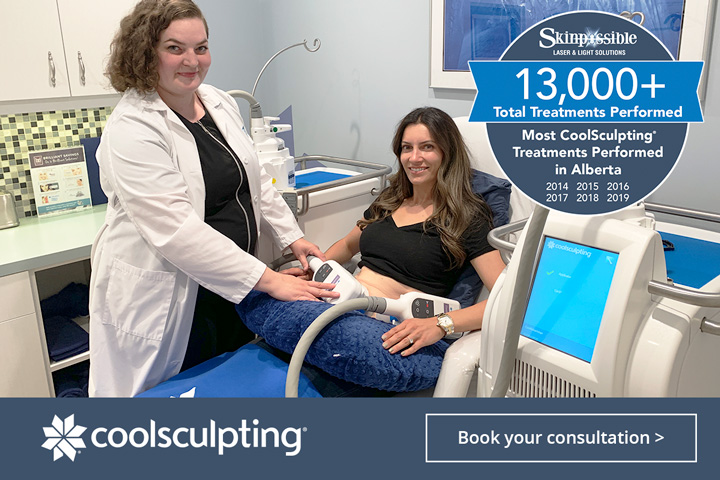 CoolSculpting calgary clinic skinpossible