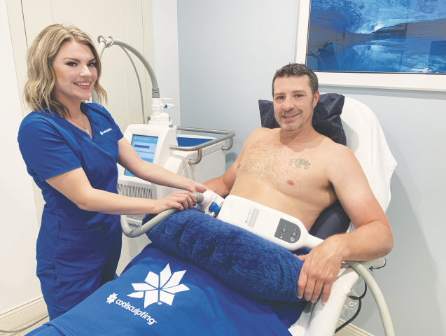 Skinpossible coolsculpting calgary male