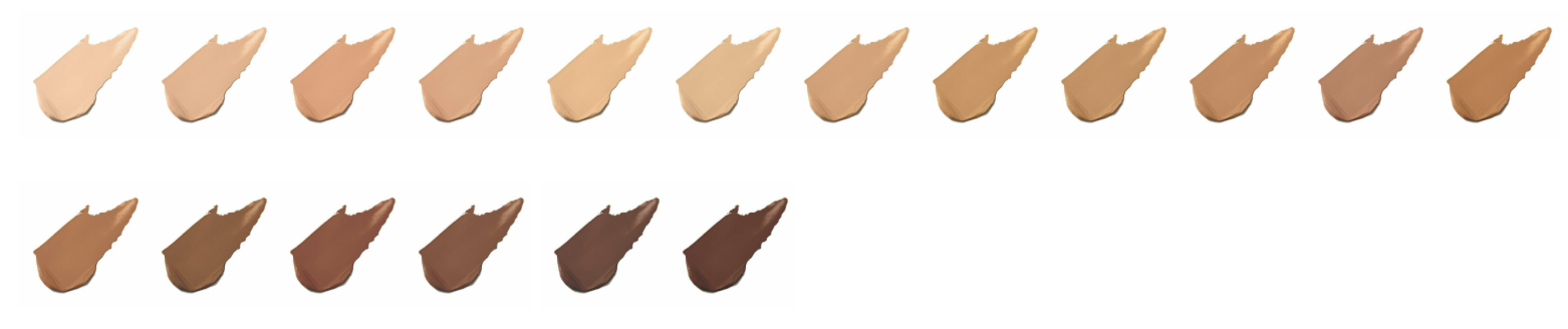 jane iredale foundation colours